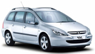 Book a - Peugeot 307 sw Break A/C - with LUZCAR