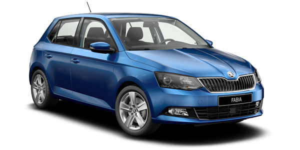 Book a - Skoda Fabia A/C - with LUZCAR